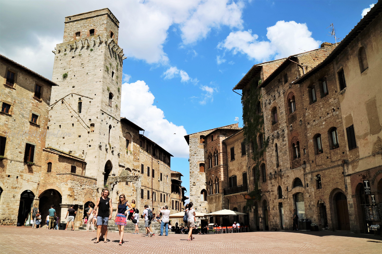 Urban photography: San Gimignano, Tuscany