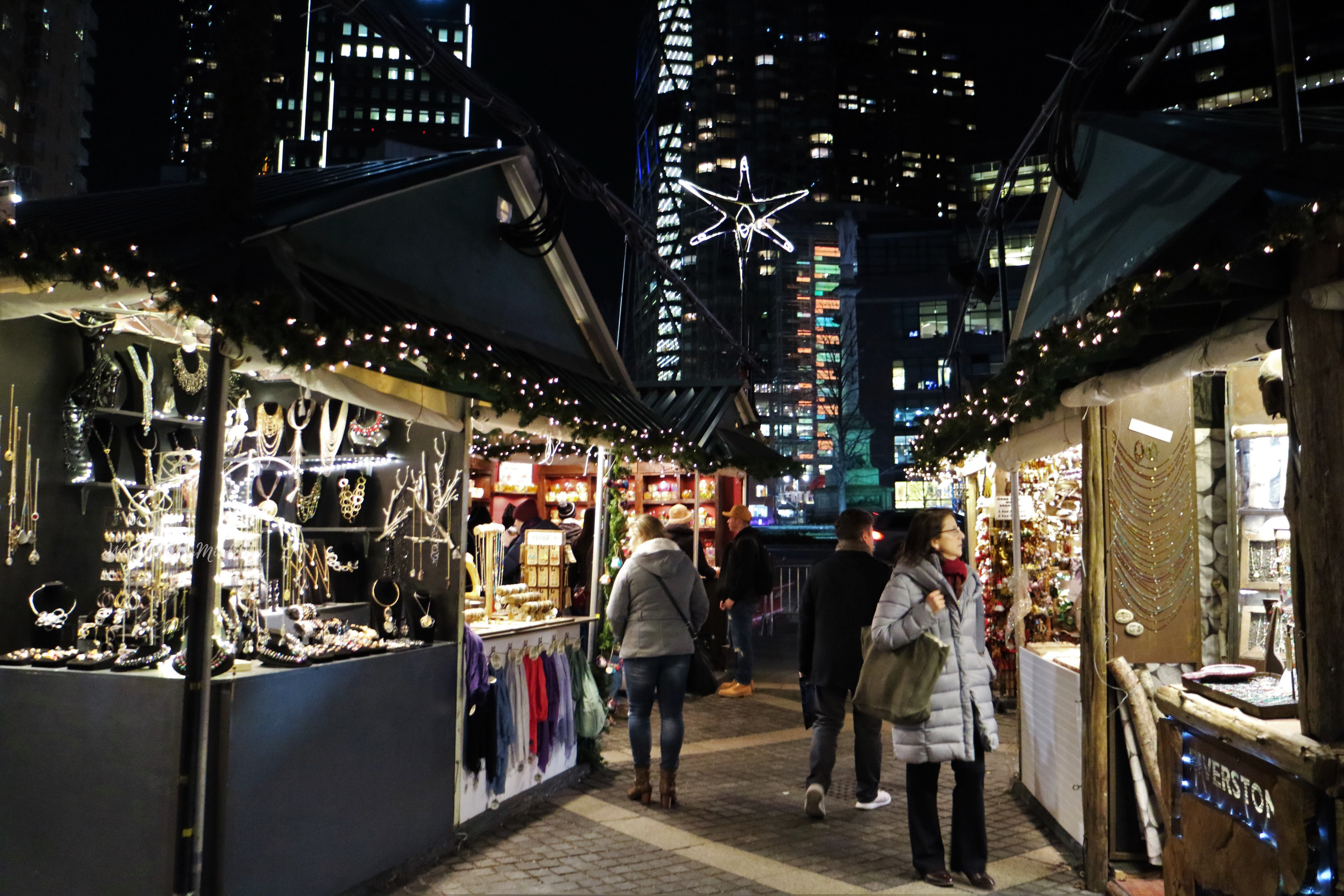 Columbus Circle Christmas market, Manhattan