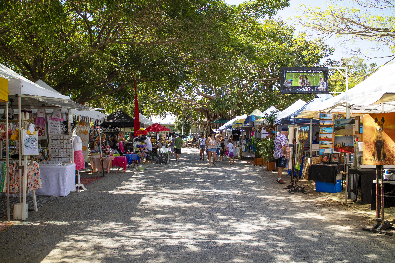 Port Douglas market, Australia