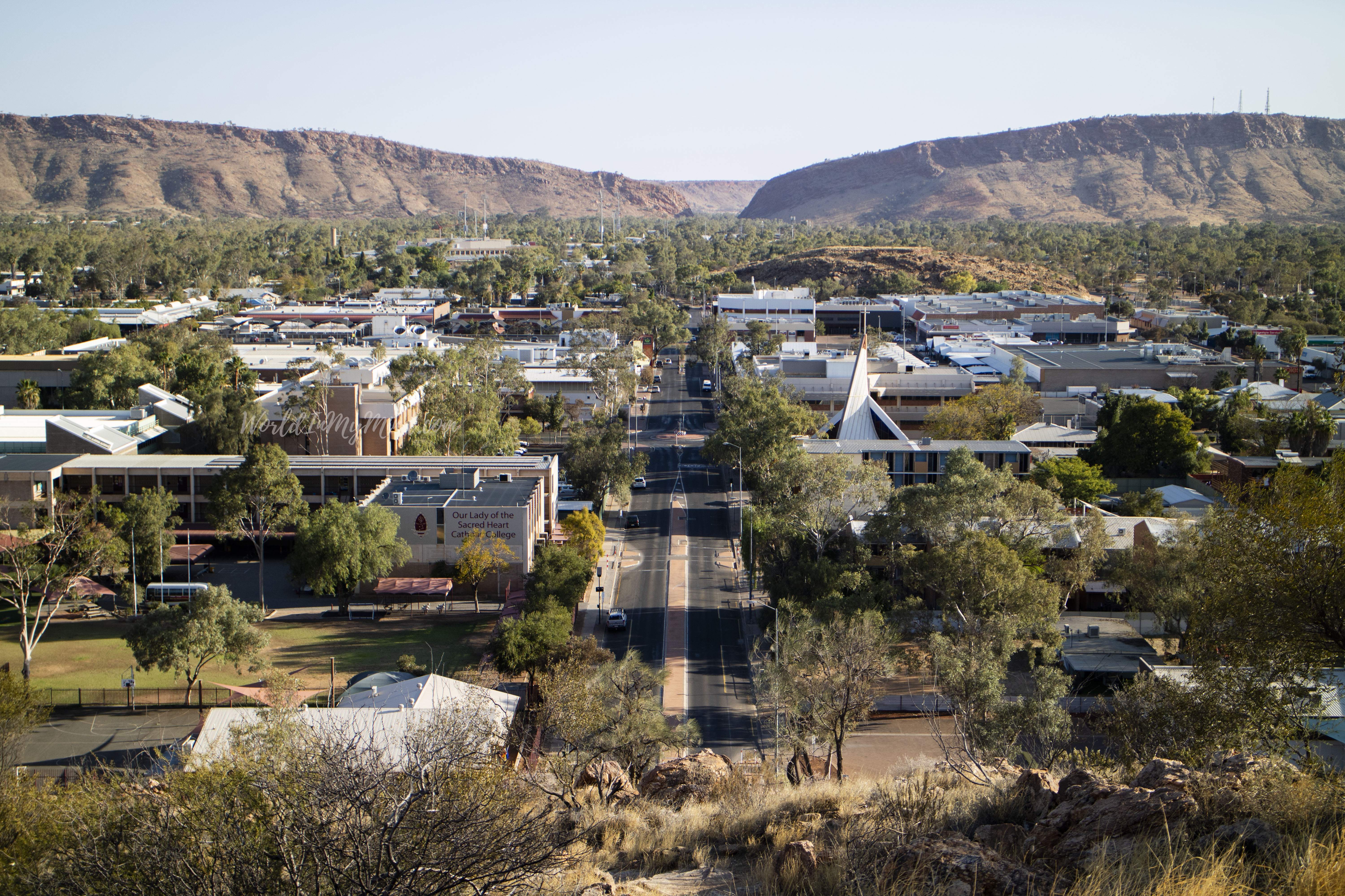 Alice Springs, Anzac Hill